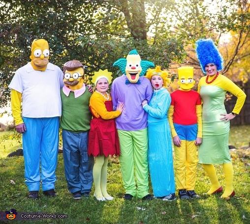The Simpsons Costume