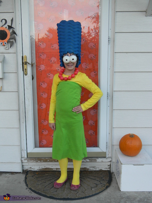 Marge, The Simpsons Family Costume