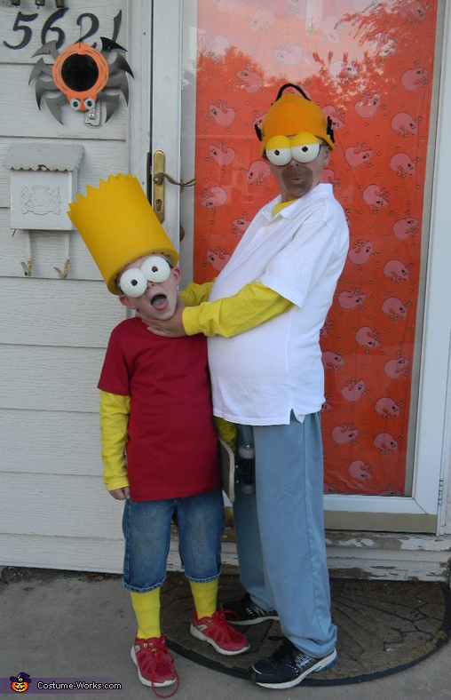 And we all remember this pose.. lol, The Simpsons Family Costume