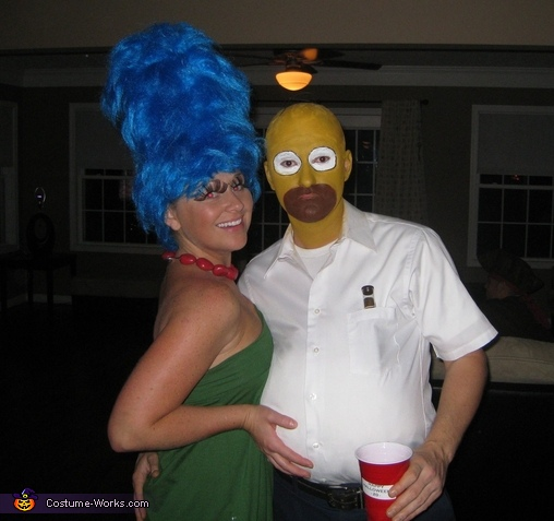 The Simpsons - Homemade costumes for couples