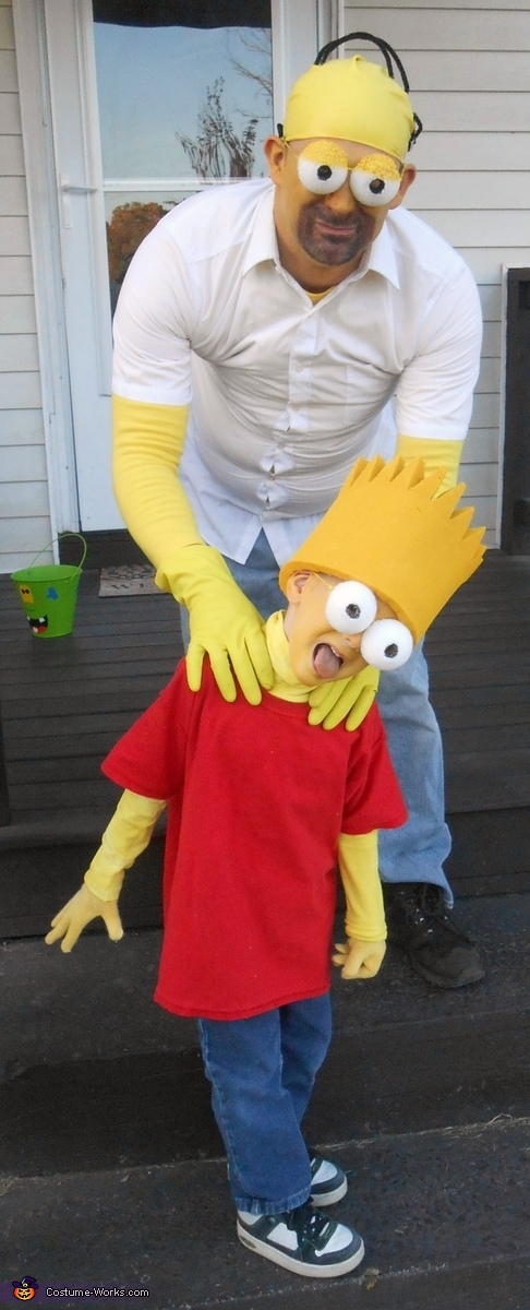 Why you little!, The Simpsons Costume