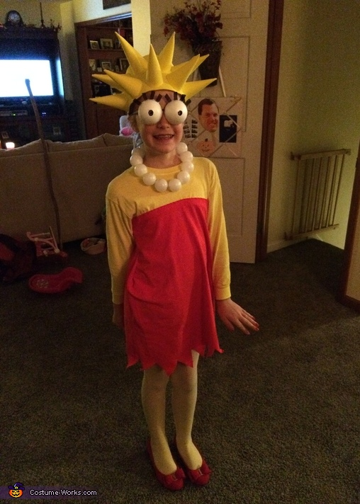 Lisa, The Simpsons Family Costume