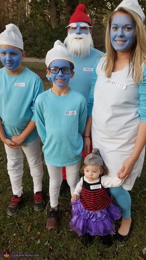 The Smurf Family Costume