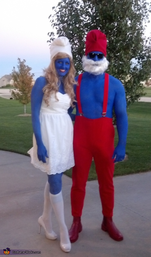 The Smurfs Couple Costume