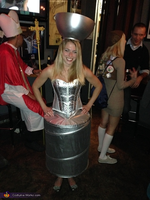 The Stanley Cup and Pittsburgh Penguins Player Homemade Costume