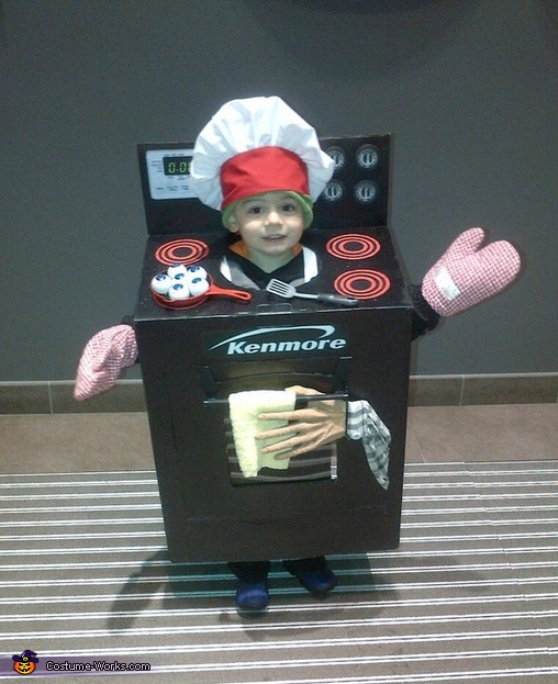 The Stove Costume