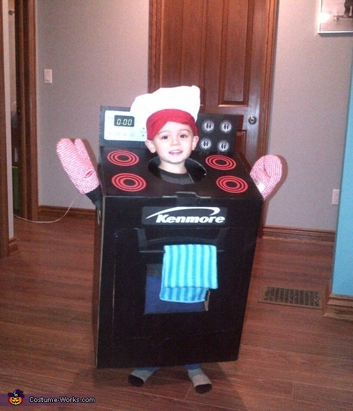 One Happy Stove, The Stove Costume