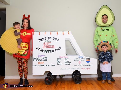 The Taco Family Costume
