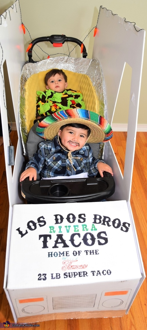 Los Dos Bros Tacos = The 2 Bros Tacos!, The Taco Family Costume