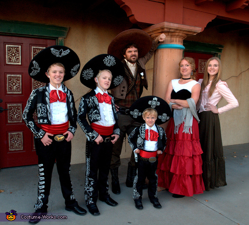 The Three Amigos Costume