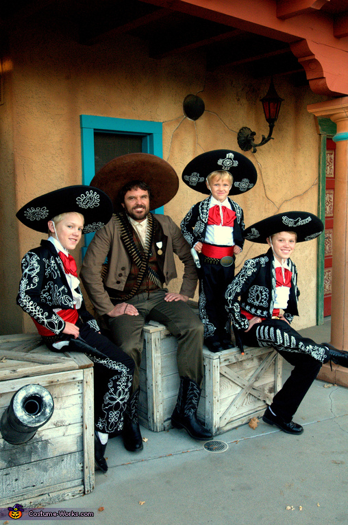 The Three Amigos Homemade Costume