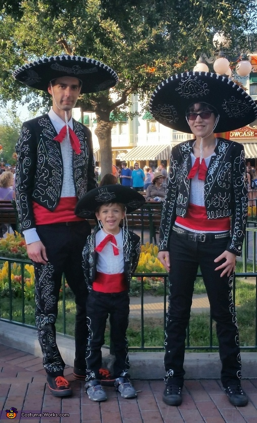 The Three Amigos Family Costume
