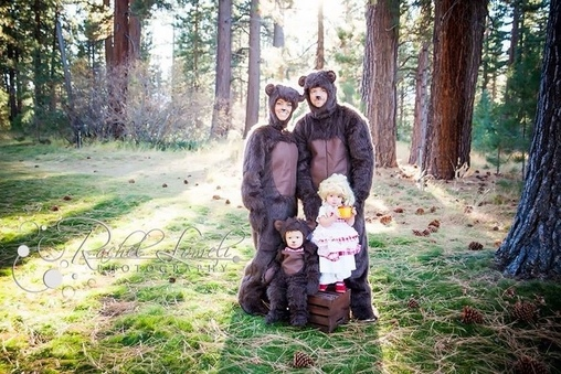 The Three Bears Costume