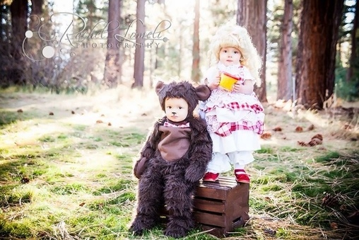 Goldilocks, The Three Bears Costume