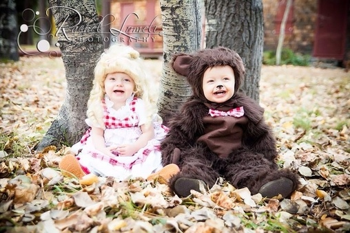 The Three Bears Homemade Costume