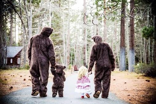 The Three Bears Homemade Costume
