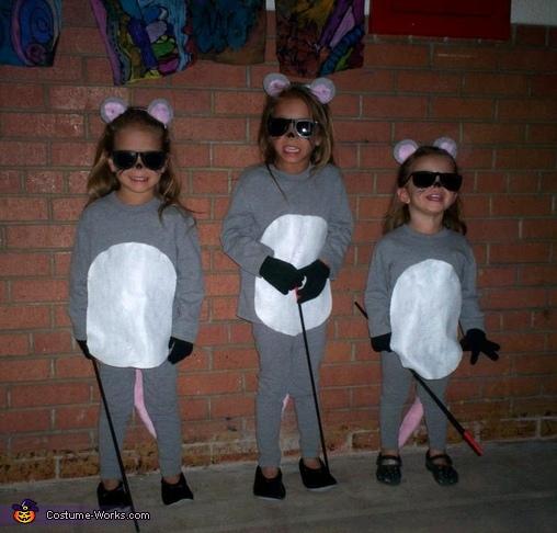 The Three Blind Mice Costume