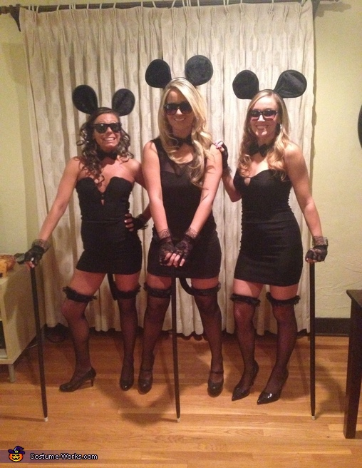 The Three Blind Mice Group Costume