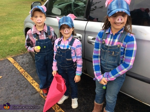 The Three Little Pigs Homemade Costume