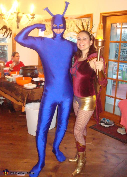 Tick Costume