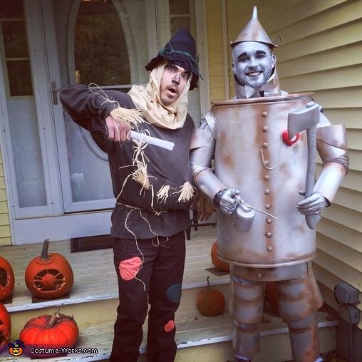 The Tin Man Homemade Costume