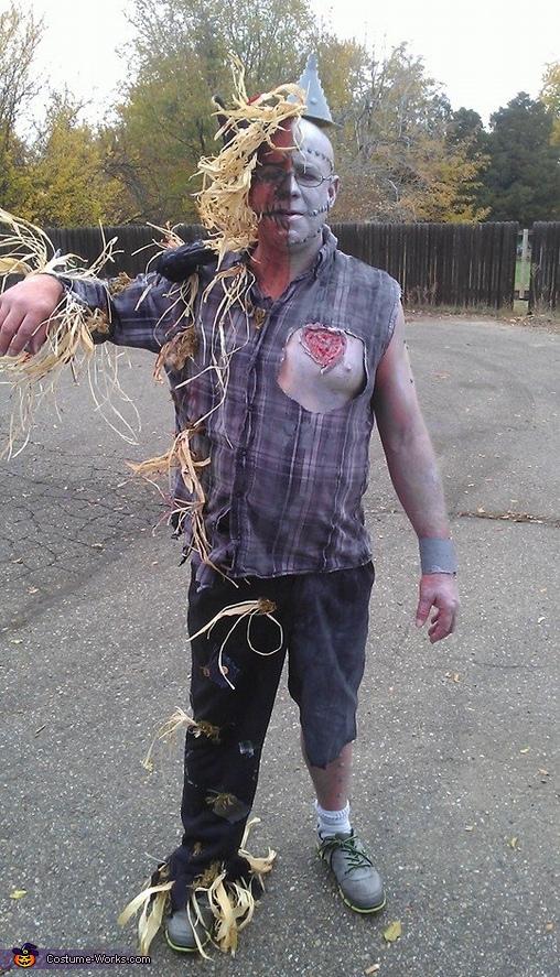 The Tin Man Scarecrow Mix Costume