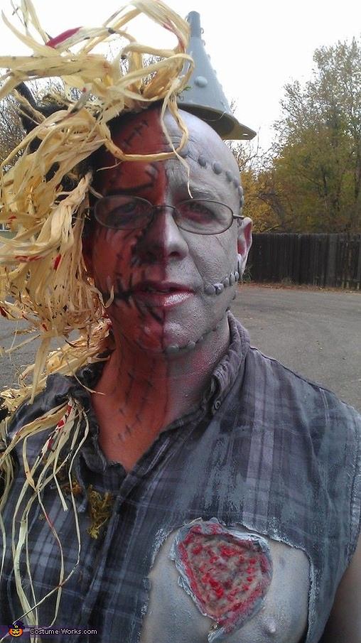 The Tin Man Scarecrow Mix Homemade Costume  sc 1 st  Costume Works & The Tin Man Scarecrow Mix Costume - Photo 5/6