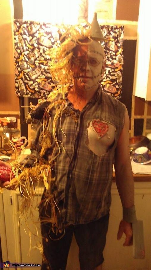 The Tin Man Scarecrow Mix Homemade Costume