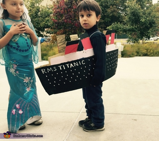 The Titanic and its Victims Costume