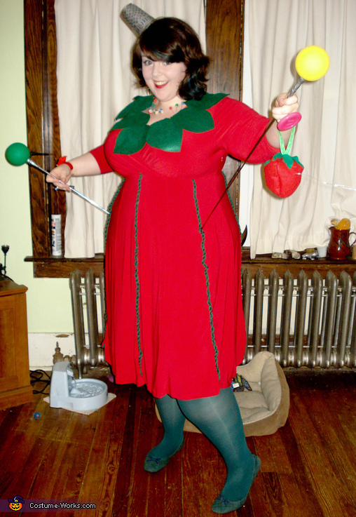 The Tomato Pin Cushion Costume