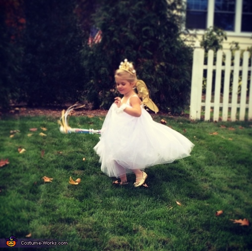 Mommy's favorite picture!, The Tooth Fairy Costume