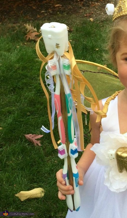 Toothbrush wand!, The Tooth Fairy Costume