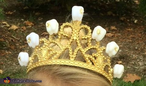 Tooth crown!, The Tooth Fairy Costume