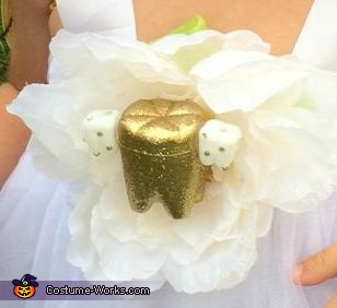 The golden tooth!, The Tooth Fairy Costume