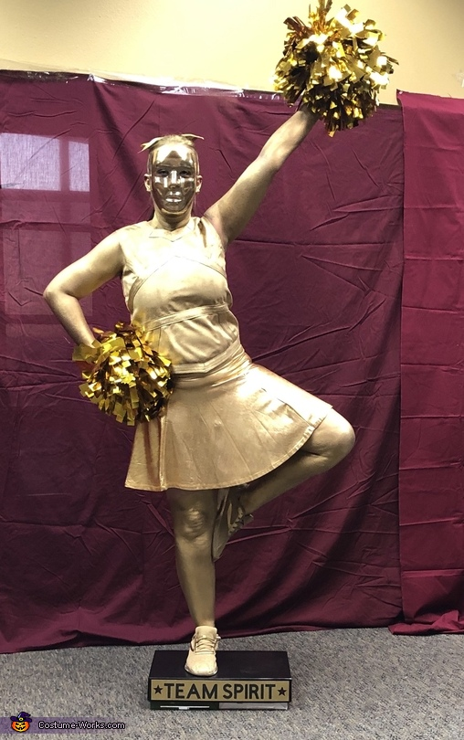 Cheer Captain Trophy, The Trophy Case Costume