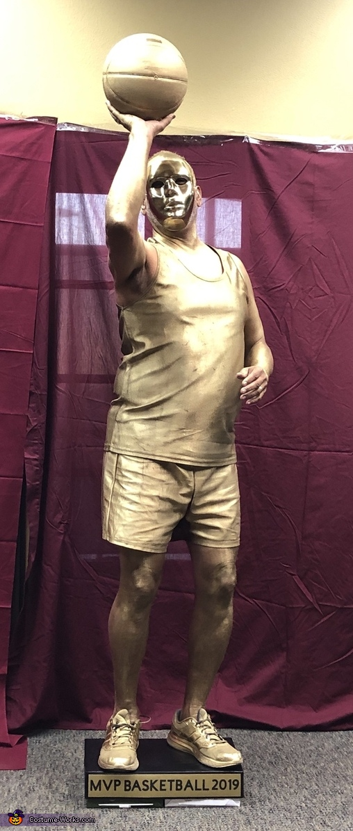 Basketball Trophy, The Trophy Case Costume