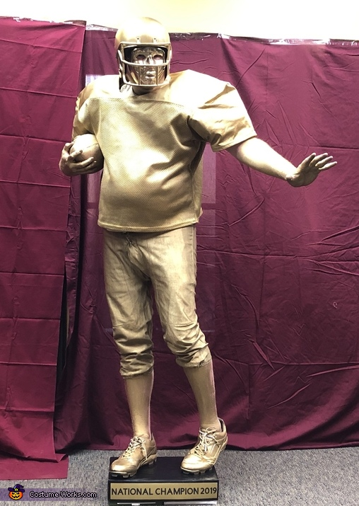 Football Trophy, The Trophy Case Costume
