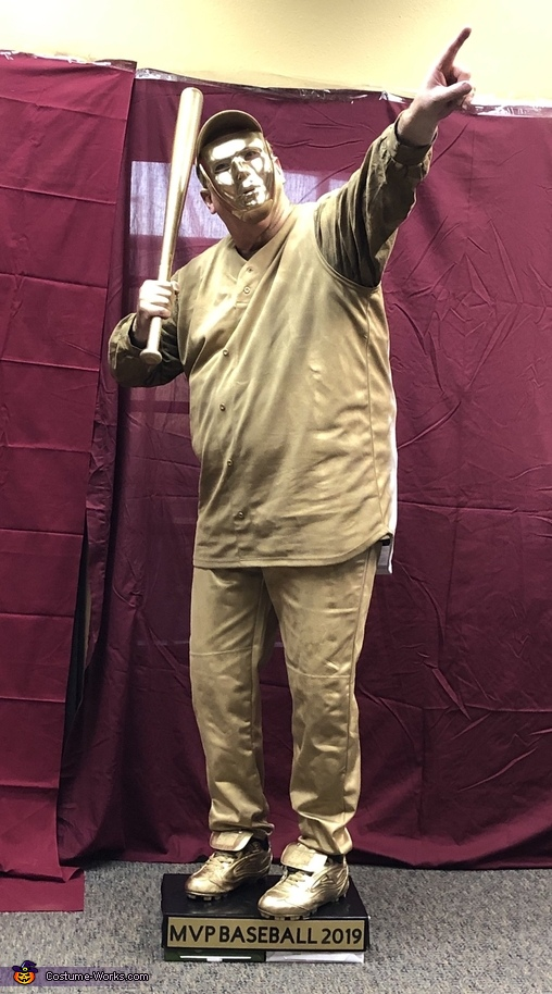 Baseball Trophy, The Trophy Case Costume