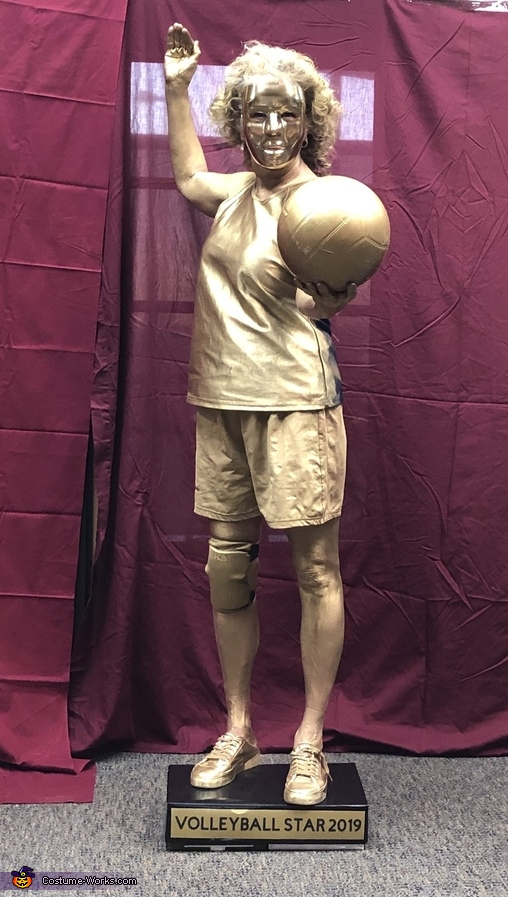 Volleyball Trophy, The Trophy Case Costume