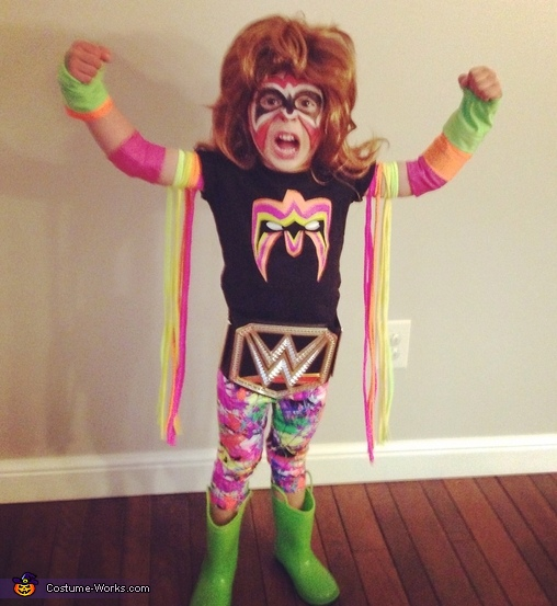 The Ultimate Warrior Costume