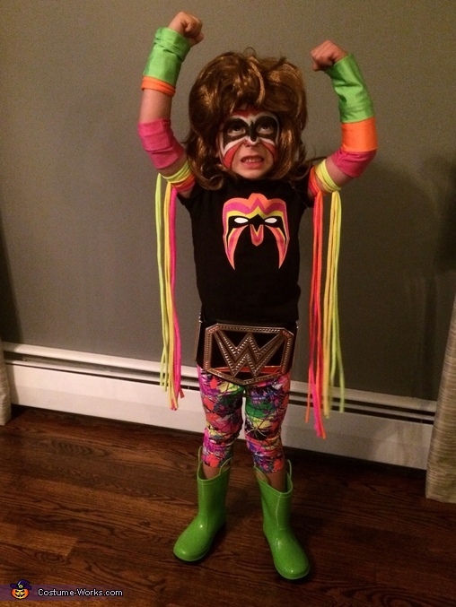 Ultimate Warrior 2, The Ultimate Warrior Costume