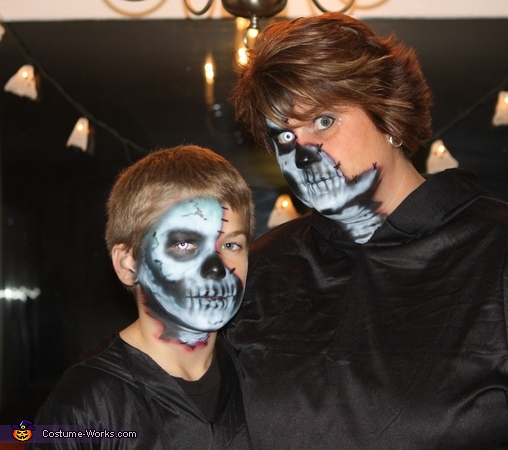 Me and my son, The Undead Couple Costume