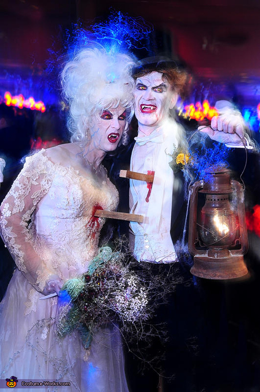 The Undead Bride and Groom Costume