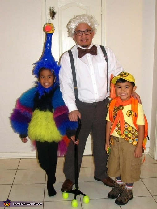 Kevin, Carl, Russell, The Up Family Costume