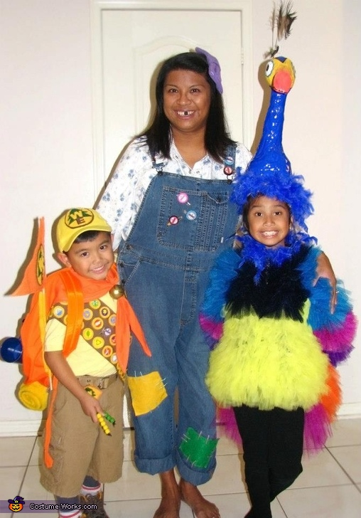 Russell, Ellie, Kevin, The Up Family Costume