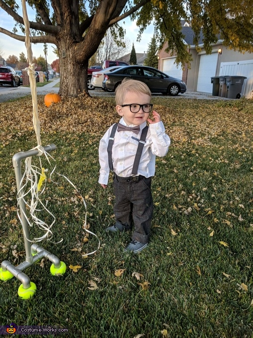 """Our son Kingsley, The """"Up"""" Family Costume"""