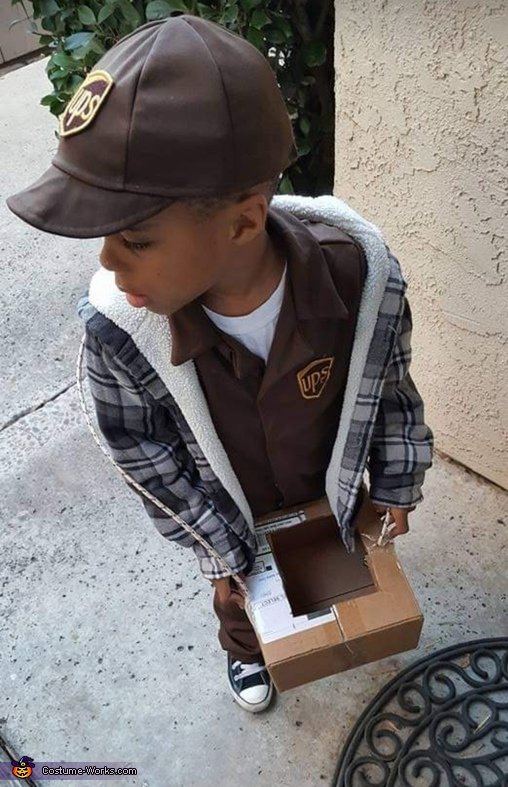 The UPS Man Homemade Costume