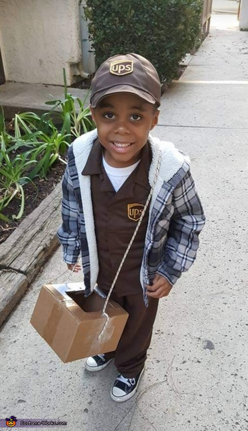 The UPS Man Costume