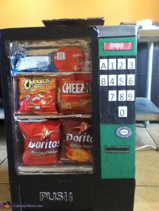 the vending machine, Vending Machine Costume