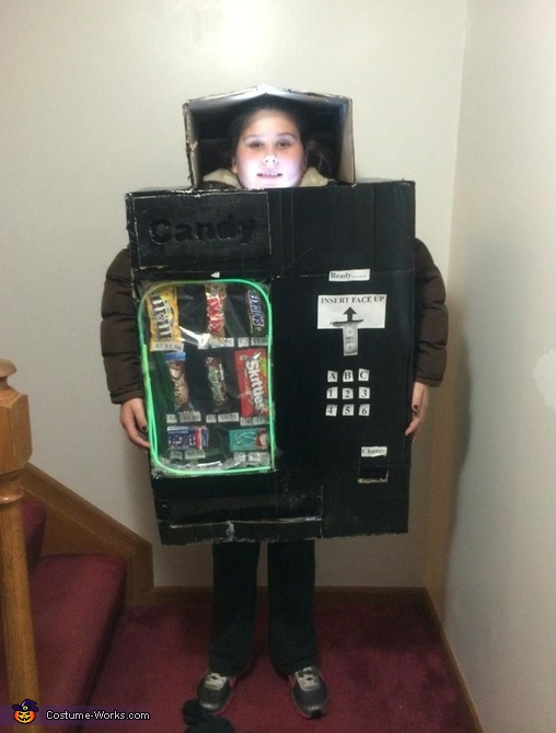 The Vending Machine Costume